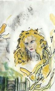 Watercolour and Felt Pen Montage 1983