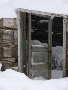 Cabin Door, Rossland BC
