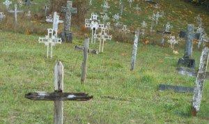 Memorial burial site, Sechelt, BC