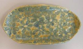 Moss green glaze