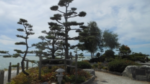 Photograph of Kuno Garden, Gary Point Park, Steveston, Richmond, British Columbia Canada.