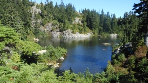 Photograph of Mystery Lake, Mount Seymour Provincial Park, British Columbia, Canada.