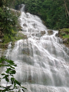Photograph of Bridal Falls, British Columbia, Canada