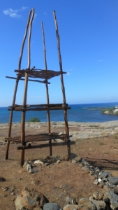 Ceremonial rack located at Pu'Ukohola Heiau