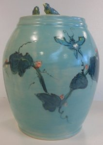 Robins egg blue glaze
